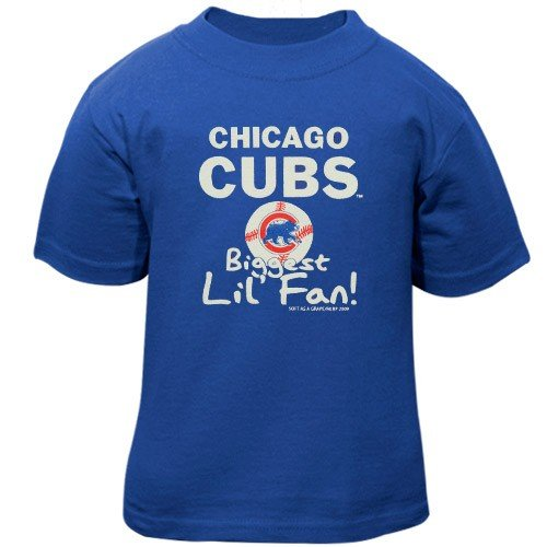 Chicago Cubs Infant Royal Blue Biggest Fan T-shirt