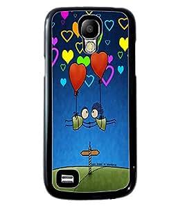 PrintVisa Metal Printed Love Designer Back Case Cover for Samsung Galaxy S4 Mini I9190/ I9192-D4919