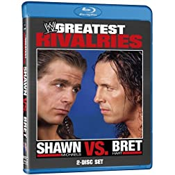 WWE Shawn Michaels vs. Bret Hart: WWE's Greatest Rivalries 2-Disc Blu-ray