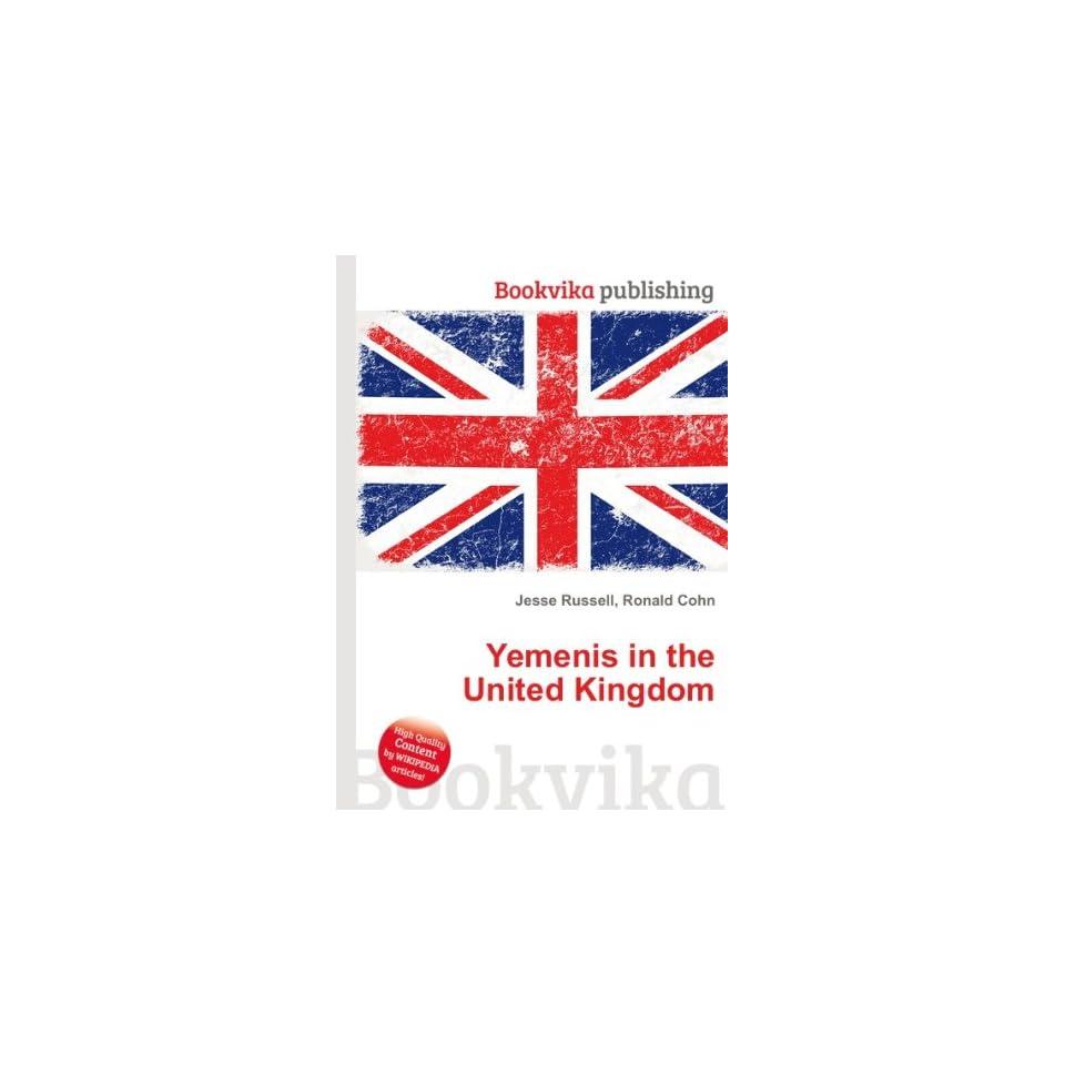 Yemenis in the United Kingdom Ronald Cohn Jesse Russell