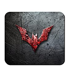 Barisa Epic Batman Logo Designer Printed Mouse Pad For PC / Laptop - Matte finish Multicolor