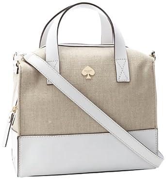 (满分)Kate Spade 凯特·丝蓓 时尚牛皮挎包 法兰西白Little Kennedy$202.73