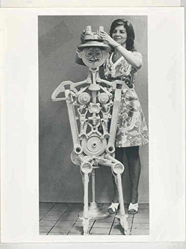 1970 ? Chevrolet Robot Sculpture Constructed Automobile Scrap Parts Photo (Chevrolet Robot compare prices)