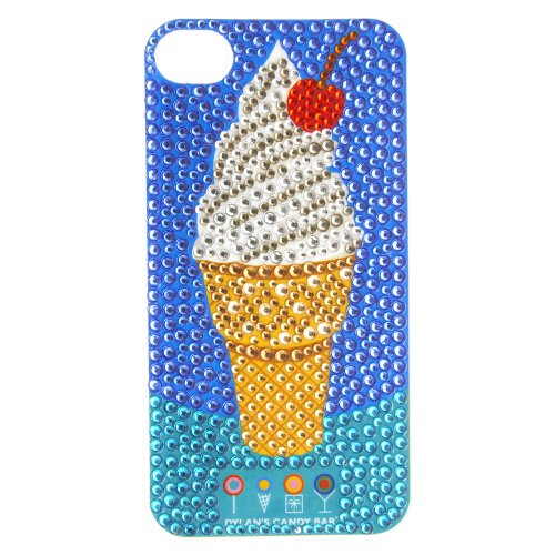 Dylan's Candy Bar Ice Cream Cone Embellished iPhone 4/4s Cover