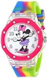 Disney Kids' MN1172 Analog Display Analog Quartz Pink Watch