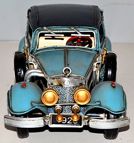 Car Vintage 1936 Benz 540 K Blechauto Blechmodell Metal Tin Vintage Car Model 37863 30 CM