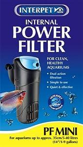 Interpet Water Filter - PF Mini - 200 Litres Per Hour/44 Gal/hr