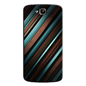 BLUE & BROWN STRIPES BACK COVER FOR HONOR HOLLY