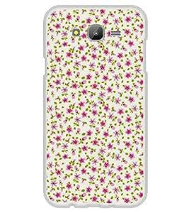 Pink Flowers Pattern 2D Hard Polycarbonate Designer Back Case Cover for Samsung Galaxy E7 (2015) :: Samsung Galaxy E7 Duos :: Samsung Galaxy E7 E7000 E7009 E700F E700F/DS E700H E700H/DD E700H/DS E700M E700M/DS