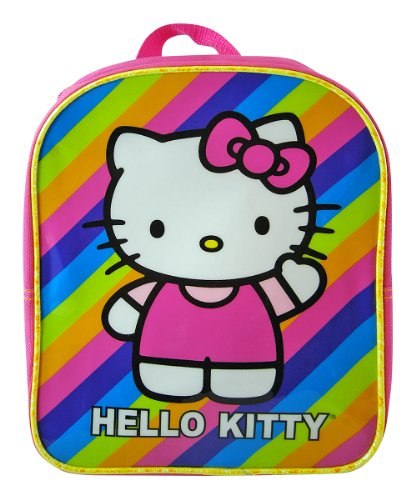 "Mini Backpack - Hello Kitty - Rainbow 10"" - 1"