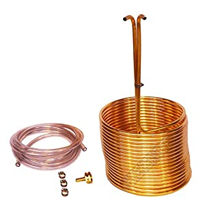 Amazon.com: Delux Copper Immersion Wort Chiller: Kitchen