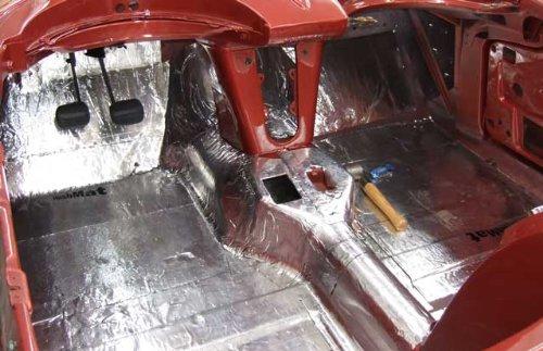 Corvette Hushmat Floor And Dash Insulation 20 Pieces
