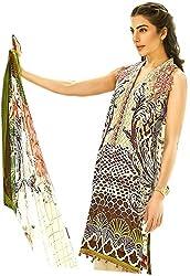 Maverick Collection Pakistani Style Multi Camberic Lawn Cotton Straight Suit