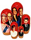GreatRussianGifts Royal Family nesting doll 5-pc 7H