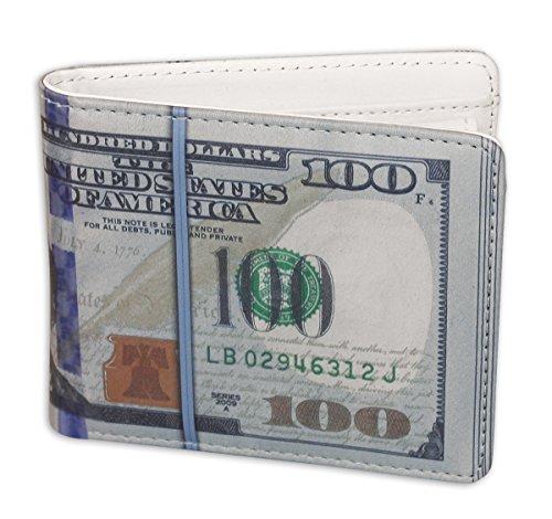 One Hundred Dollar Wallet $100 Bill - 1