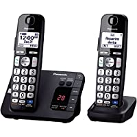 Panasonic KX-TGE232B 2 Handsets Cordless Phone System