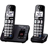 - NEW! Expandable Digital Phone with Answering Machine KX-TGE232B 2 Cordless Handsets