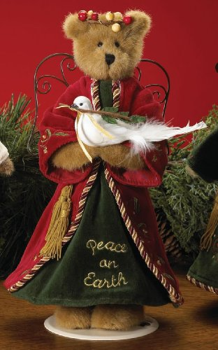 "Boyds Bears Jim Shore Collection - Peace on Earth 12"" Angel Bear"