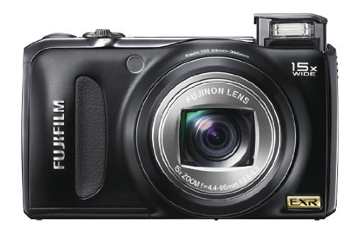 FUJIFILM FinePix デジタルカメラ F300EXR ブラック F FX-F300EXR B 1200万画素 スーパーCCDハニカムEXR 光学15倍ズーム 広角24mm 3.0型液晶