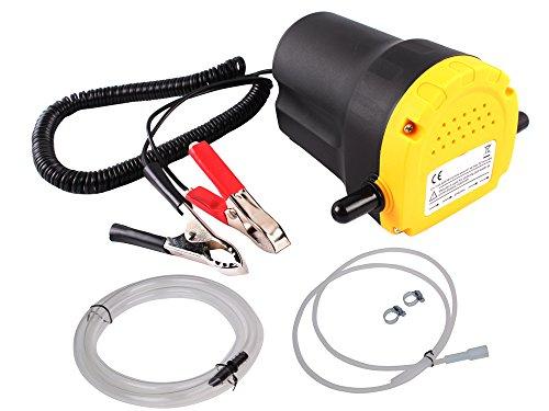 12V 5A Dc Motor Fuel Oil Diesel Extractor Scavenge Suction Transfer Pump W/ Hose