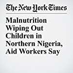 Malnutrition Wiping Out Children in Northern Nigeria, Aid Workers Say | Donald G. McNeil Jr.