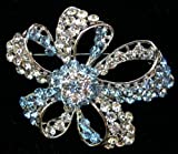 Sparkling Brooches