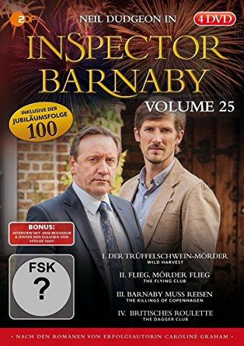 Inspector Barnaby Vol. 25 [4 DVDs]