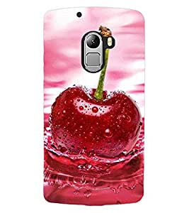 ColourCraft Beautiful Fruit Design Back Case Cover for LENOVO VIBE X3 LITE