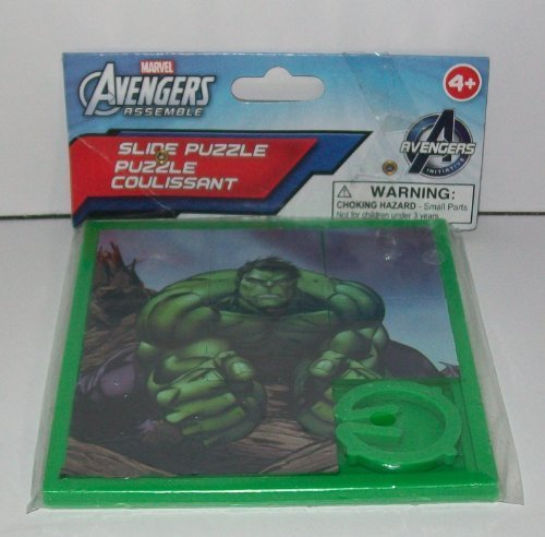 Marvel Avengers Assemble Slide Puzzle - The Incredible Hulk by Blip Toys