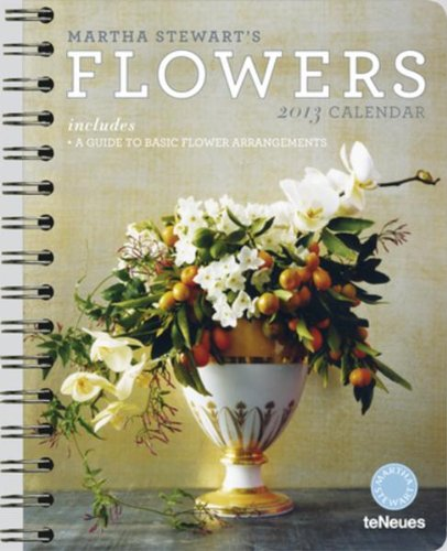 2013 Martha Stewart's Flowers Deluxe Engagement Calendar
