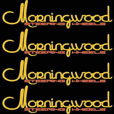 Morningwood 4 Piece Sticker Vinyl Decal Logo Stickerbomb For Car/Trunk/Hood for Dodge Charger (Dodge Charger 2012 Stickers compare prices)