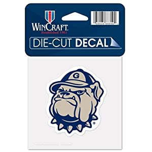 Buy Georgetown Hoyas Official NCAA 4x4 Die Cut Car Decal by Wincraft by FGCSports