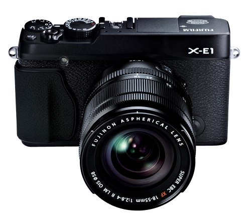 Fujifilm X-E1 16.3MP Compact System  Digital