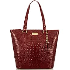 Asher Tote<br>Carmine Red Melbourne