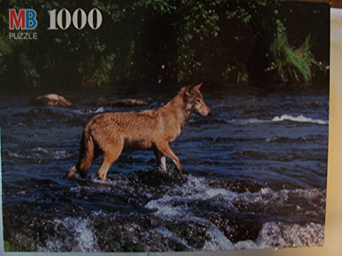 1000pc. Nature Puzzle-Timber Wolf