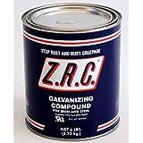 ZRC Cold Galvanizing Compound Quart Can... 95% ZINC (Z.R.C.)