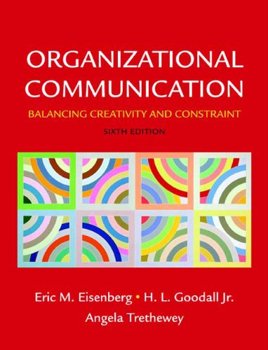 Organizational Communication: Balancing Creativity and...