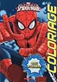 MARVEL ULTIMATE SPIDER-MAN COLORIAGES AVEC STICKERS...