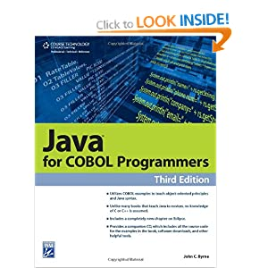 Java for COBOL Programmers, Third Edition (Programming Series)