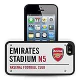 Arsenal アーセナル 2014-15モデル iPhone 5 / 5s 対応 3D ハードケース ストリートサイン / 携帯カバー iPhoneケース 携帯ストラップ