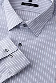 Autograph Pure Cotton Rope Striped Shirt