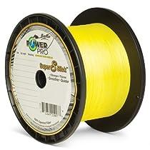Power Pro Super 8 Slick Braided Fishing Line, 15-Pound/1500-Yard, Yellow