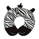 Upper Canada Soap Peek-A-Zoo Kid's Travel Neck Pillow, Zebra