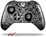Aluminum Foil - Decal Style Skin fits Microsoft XBOX One Wireless Controller