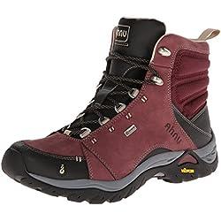 Ahnu Women's Montara Hiking Boot,Red Mahogany