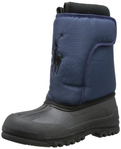 Polo Ralph Lauren Girls Albirta Big Pony EZ Snow Boots Blue Blau (Navy) Size: 11 (29 EU)