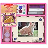 Melissa & Doug Wooden Picture Frame - Decorate-Your-Own