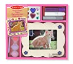 Melissa & Doug Wooden Picture Frame -...