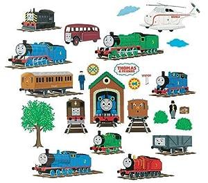 THOMAS & Friends Peel & Stick Wall Stickers Amazon