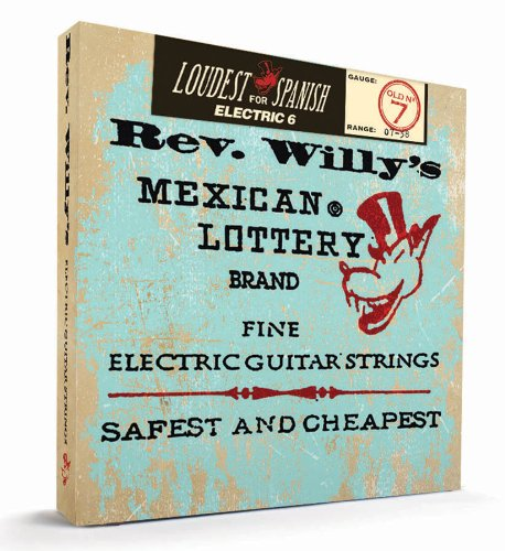Dunlop Rwn0738 Reverend Willy Electric Guitar Strings - Extra Light